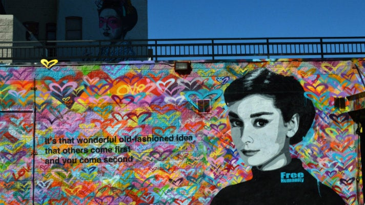 Audrey Hepburn by Free Humanity
